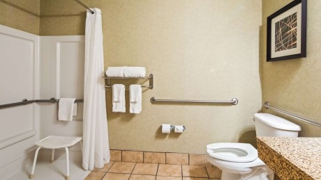 Welcome To Best Western Plus Silver Creek Inn - Roll-In Shower
